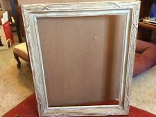 Antique c1930 AMERICAN HAND CARVED ARTS & CRAFTS FRAME 18 X 22 Picture Size
