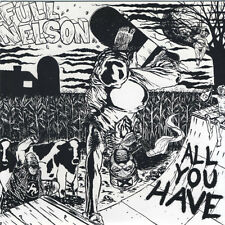 "Full Nelson - All You Have 7"" NEGATIVE APPROACH 86 MENTALITY BRACEWAR"