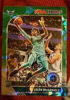 2020 NBA Hoops Jalen McDaniels Rookie Green Cracked Ice Prizm Charlotte Hornets