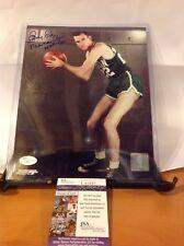 HOF Basketball Ed Macauley Autographed 8x10 Photo JSA Certified Deceased