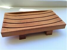 MAHOGANY SOAP DISH - A Simple & Stylish Design Handcrafted in Indonesia