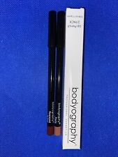 Bodyography Professional Cosmetics Lip Pencil Set Of 2 Rosewood & Pouty New