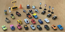 MICRO MACHINES LOT (35) CARS JETS MODEL T LINCOLN WOODY WAGON + COLLECTORS CASE