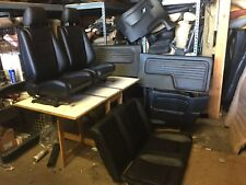 BMW e30 325/318 New Black Seats Set & Cards For Convertible (1987-93)$2700.00