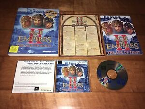 Age of Empires 2 II The Age of Kings PC Video Game Plus Strategy Guide, Manuals
