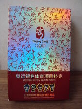 BNIB BEIJING 2008 OLYMPICS PLAYING CARDS, OFFICIAL LICENSED PRODUCT