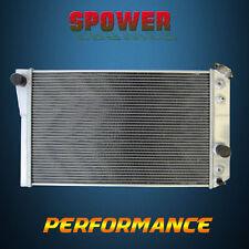 2 Row 50MM Core Aluminum Radiator For Chevrolet Corvette V8 5.7L AT MT 84-90