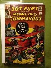 SGT. FURY & HIS HOWLING COMMANDOS #19 VG+ (1965) Marvel Nick Fury Stan Lee