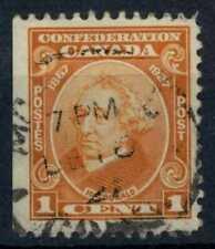 Canada 1927 SG#266, 1c 60th Anniv Of Confederation Used #E84838