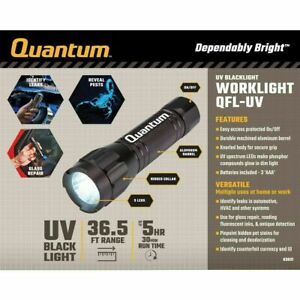 UV flashlight 3AAA small size beat virus FREE Batteries included
