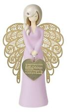 You Are An Angel Figurine - The Littlest Things (Pink) NEW in Gift Box