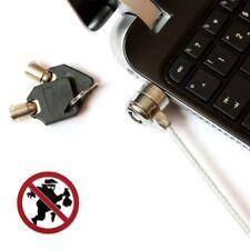 Notebookschloss KABELSCHLOSS Notebook TFT Netbook Laptop Sicherung Kabel Schloss