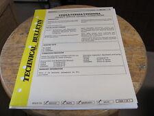 Yamaha Technical Bulletin 1989 YZ125A YZ250A YZ280WRA Timeing  Manual Correction