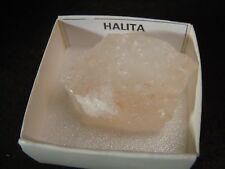 HALITA - Halite -  Pakistan - CAJITA - PAKISTAN MINERAL BOX 4x4 A732