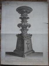 PIRANESI GIOVANNI BATTISTA , A SUA ECCELENZA, EAU FORTE, 1790 ,