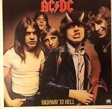 AC/DC Highway To Hell  Original 1979 Promo Poster RARE! Bon Scott FREE SHIPPING!