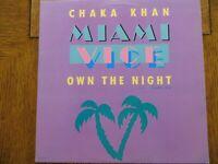 """Chaka Khan - Own The Night - 1985 MCA-23604 Vinyl Record 12"""" Single VG+/EX!!!"""