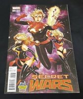 SECRET WARS 5 VARIANT CAPTAIN MARVEL MARK BROOKS 2 0 1 0 NM MS MARVEL AVENGERS