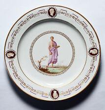 RARE Naples Real Fabbrica Ferdinandea plate circa 1790