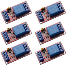 6pcslot 1 Channel 12v Relay Module Board Shield W Optocoupler Isolation Sup 12v