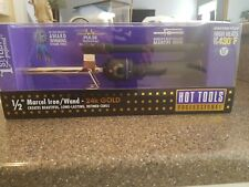 """Hot Tools 1/2"""" 24K GOLD MARCEL CURLING IRON WAND Styling Long Lasting Curl NEW!!"""