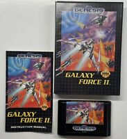 Galaxy Force II (Sega Genesis, 1992) COMPLETE!! Fast Ship!!