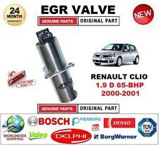 Para Renault Clio 1.9 D 65-BHP 2000-2001 Eléctrico Válvula EGR 5 Pin con juntas