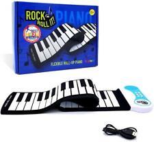 Mukikim Rock & Roll It Flexible Piano - Portable 49 Standard Keys - Nib