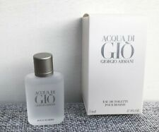GIORGIO ARMANI Acqua Di Gio Eau De Toilette Pour Homme mini for men, 5ml, BNIB
