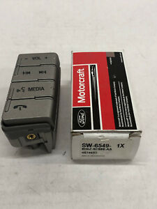NEW MOTORCRAFT SW-6549 VOICE MEDIA PHONE VOLUME SWITCH FOR 2008-2013 FORD FUSION
