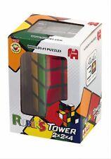 Jumbo 12154 - Rubiks Cube Tower, Zauberwürfel-Turm, 4x4x2 Seiten 2x2x4 - Für 1