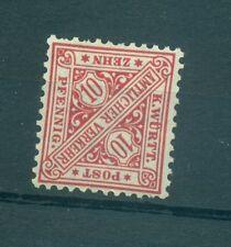 GERMANIA ANTICHI STATI - GERMANY STATES Wurttemberg 1906 Mi. 230a 10Pf