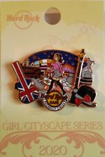 HRC Hard Rock Cafe London Piccadilly Circus Girl Cityscape Series Pin  #617582