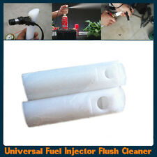 Universal Auto Fuel Injector Flush Cleaner Adapter Portable Cleaning Tool Nozzle