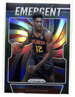 2019-20 Panini Prizm De'Andre Hunter Emergent GREEN rookie card Hawks