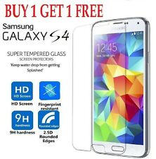 100% Genuine Gorilla Tempered Glass Film Screen Protector Samsung Galaxy S4