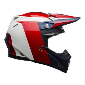 BELL MX 21 Motorrad 9 FLEX Head Protection Composite Carbon Shell Motocross