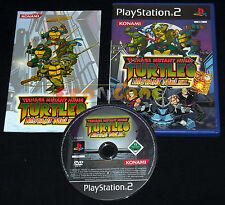 TEENAGE MUTANT NINJA TURTLES MUTANT MELEE Ps2 Versione Italiana ••••• COMPLETO