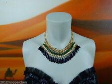 Modeschmuck-Halsketten & -Anhänger aus Acryl mit Cabochon-Schliffform für Damen