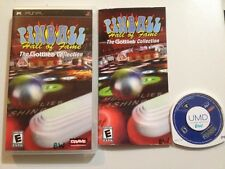 Pinball  (PlayStation Portable, 2005)Complete Mint Rare! Fast Ship