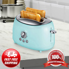 New Beautiful Btwd Cool Touch 2 Slice Extra Wide Slot Retro Toaster Tiffany Blue