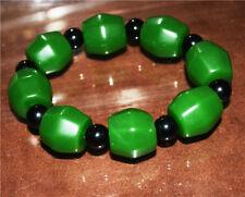 natural hotan nephrite prayer beads chinese hetian green jade bracelet jadeite