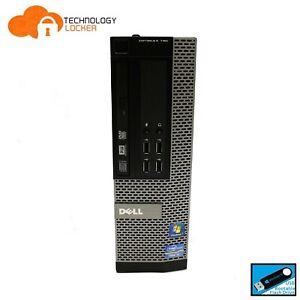 DELL Optiplex 790 SFF Desktop PC Intel i5-2400 @3.10GHz 4GB RAM 500GB HDD Win 10