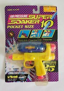 NIP Vintage Super Soaker 10 Pocket Size Air Pressure Larami 1993 9981-0 RARE
