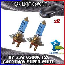 ampoule xenon H7 de voiture 55 w 12 v SUPER WHITE pour phare blanc optique X 2