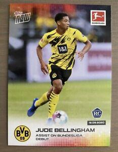 Topps Now Bundesliga ~ JUDE BELLINGHAM ~ Rookie Card RC BVB Borussia Dortmund