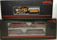 Marklin Z 88035 2-6-0 DRGW Bumble Bee Loco and 87910 pass car set (Tested) LNIB