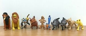 Disney The Lion King  CAKE TOPPERS 10 PLASTIC FIGURES