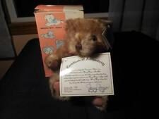 Vintage 1992 Plush Stuffed Mary Meyer Grandma's Bear Limited Edition NOS Boxed