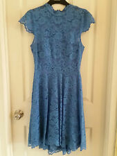 EVER NEW BLUE LACE COCKTAIL DRESS